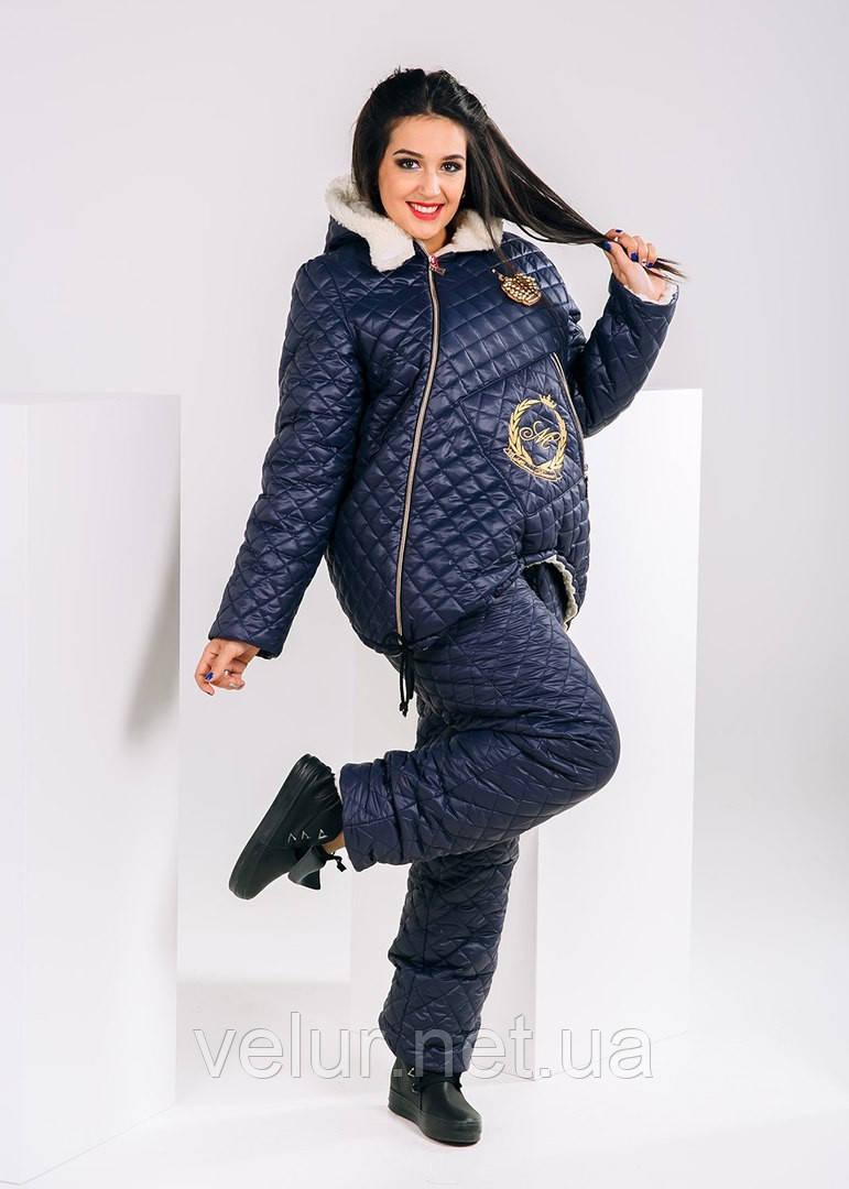 Зимний лыжный женский костюм про-во Украина, 3 цвета , разм 50-52