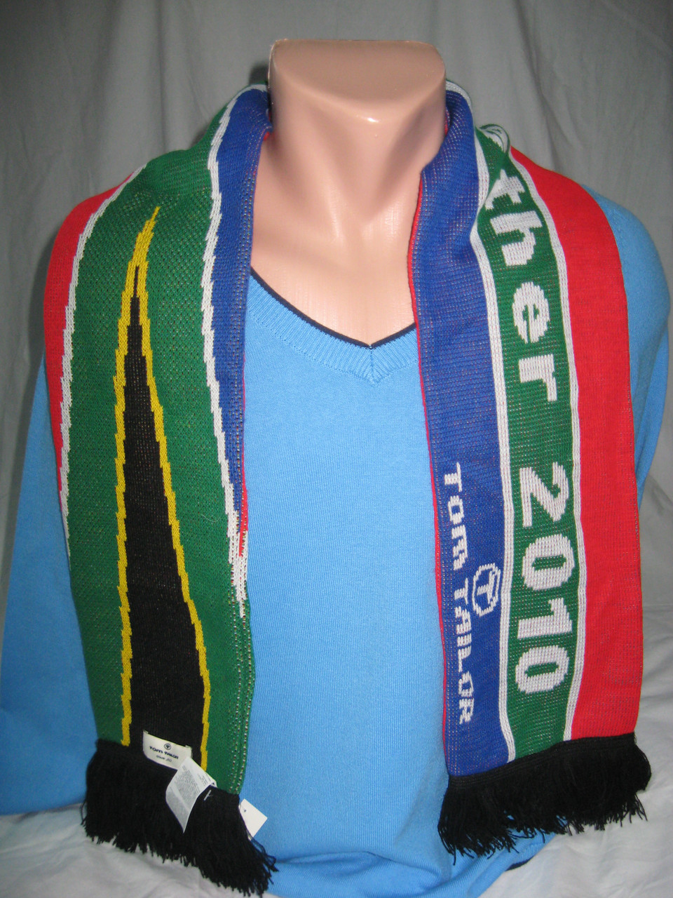 Чоловічий шарф теплий Tom Tailor