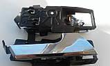 Ручка двері Хромована ліва (внутрішня) Авео Т-250 (оригінал), фото 2
