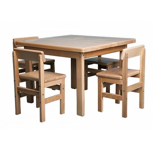 Дитячі столики і стільчики