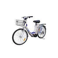 Электро велосипед VEGA ECO ( 350W-36V)  (большое сиденье,  защита для ног пассажира, передняя корзинка)     +