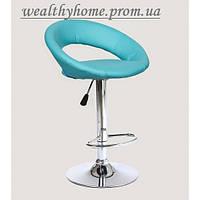 Барный стул Хокер HC-104C искусственная кожа, бирюзовый
