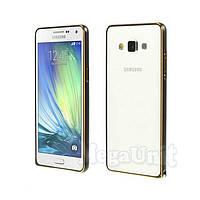 Алюминиевый чехол-бампер Fashion Case для Samsung Galaxy A3 (a300), фото 1