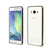 Алюминиевый чехол-бампер Fashion Case для Samsung Galaxy A3 (a300)