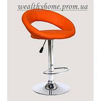 Барный стул Хокер HC-104C искусственная кожа, оранжевый