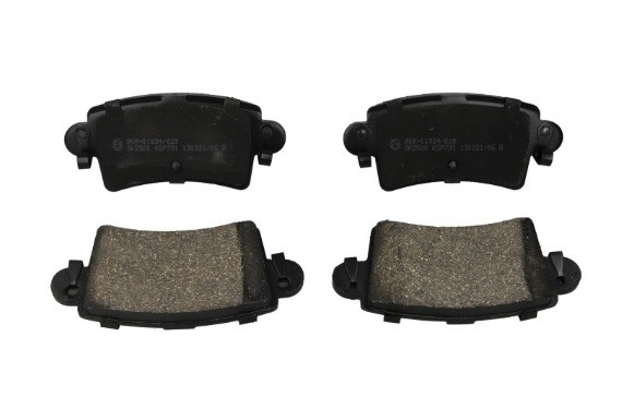 Гальмівні колодки задні на Renault Master II 1998->2010 — LPR (Італія) - LPR05P791