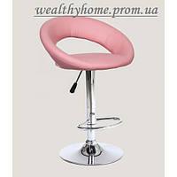 Барный стул Хокер HC-104C искусственная кожа, розовый