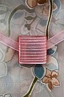 Магнит-подхват для штор Скваред П розовый