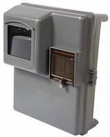 Шкаф пластиковый КДЕ-1 под однофазный счетчик, навесной