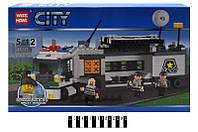 """Конструктор """"CITY"""" Поліцейська спецтехніка  303 дет. 85016 р. 50,5х30,5х6см."""