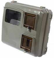 Шкаф пластиковый КДЕ-3 new под одно-трехфазный электронный счетчик, навесной