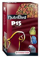 NutriBird P15 Tropical корм с орехами и фруктами для попугаев 1кг.