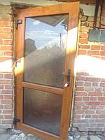 Двери металлопластиковые входные ламинированные снаружи