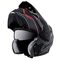 Мотошлем Caberg Tourmax черно красный мат, XL