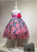 Очень красивое праздничное платье для девочек, Турция