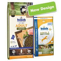 Bosch Adult Poultry& Spelt 15кг Сухой корм для взрослых собак с мясом птицы и просом