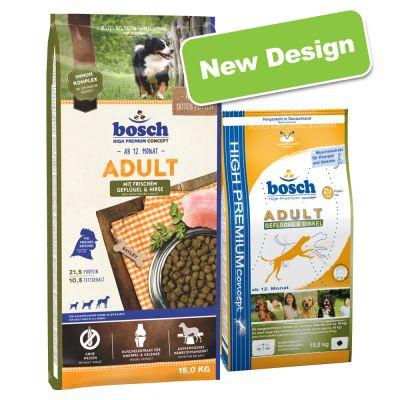 """Bosch Adult Poultry& Spelt 15кг Сухой корм для взрослых собак с мясом птицы и просом - Интернет-магазин """"Крамничка Бо"""" в Львове"""