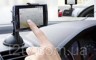 Универсальный автомобильный держатель для телефона на липучке