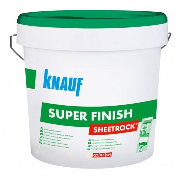 Шпатлевка KNAUF Sheetrock Super Finish пастообразная, 28 кг