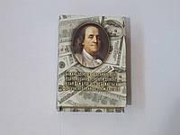 """Книга сейф """"Бен Франклин"""" с долларами"""