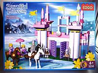 """Констр. """"Cogo """" Замок принцеси (коробка ) 3250 р.39х29х8,5см., шт, фото 1"""