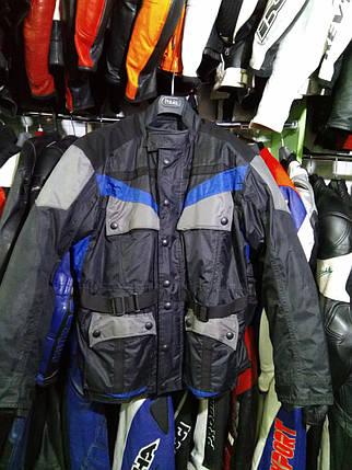 Мотокуртка бу текстиль туристическая 115, фото 2