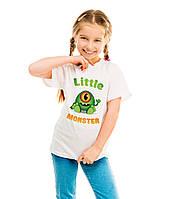 "Детская футболка ""Little monster"""