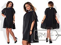 Стильное женское платье Батал р-1515981