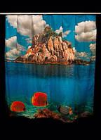 Фото шторы Остров