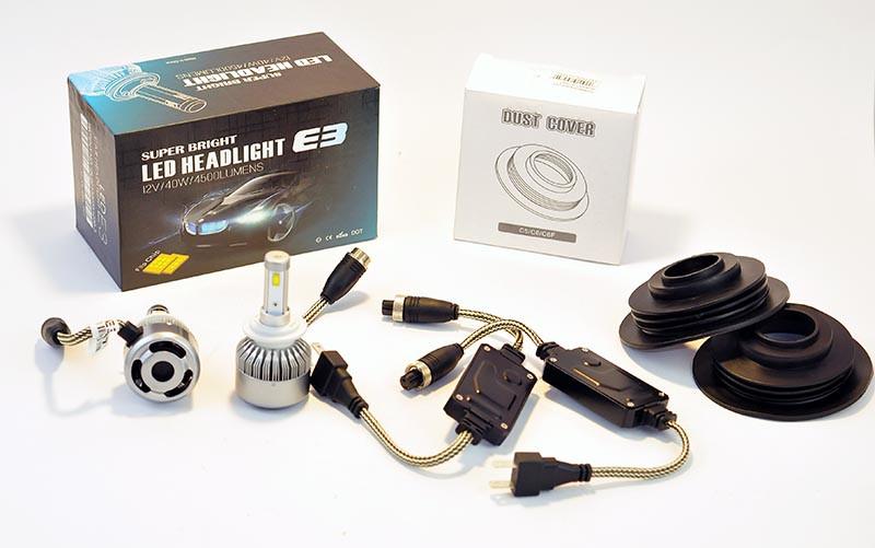 Світлодіодні лампи H4 40W 6500K E3 (IL-L)