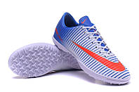 Футбольные сороконожки Nike Mercurial Victory VI TF Blue Tint/Racer Blue/Volt/Bright Crimson, фото 1