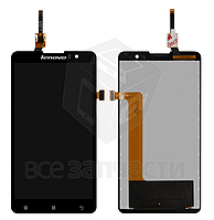 Дисплей для Lenovo S8 S898T, S8 S898T+, черный, с сенсорным экраном