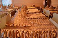 Покрывало для детских садов без рюшей размер 110 х 140 см