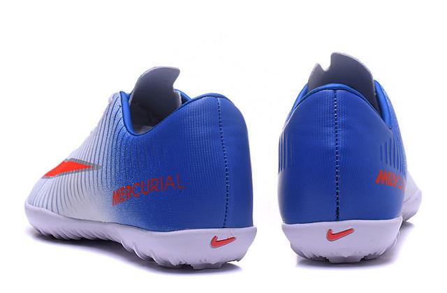 Футбольные сороконожки Nike Mercurial Victory VI TF Blue Tint/Racer Blue/Volt/Bright Crimson