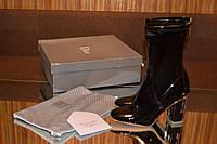 Сапоги Dior лаковые