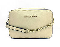 Женская сумка cross-body Michael Kors (331 jet set) gold