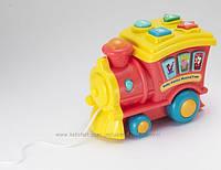 Детский обучающий паровозик Baby Genius Musical Train