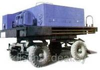 Машина для подогрева, перемешивания и транспортирования мастик на кровлю СО-100 А