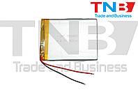 Батарея для планшета 3,7V 76x60x3mm 2pin 2500mAh