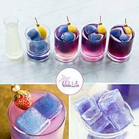 Синий лед: идея для приготовления коктейлей