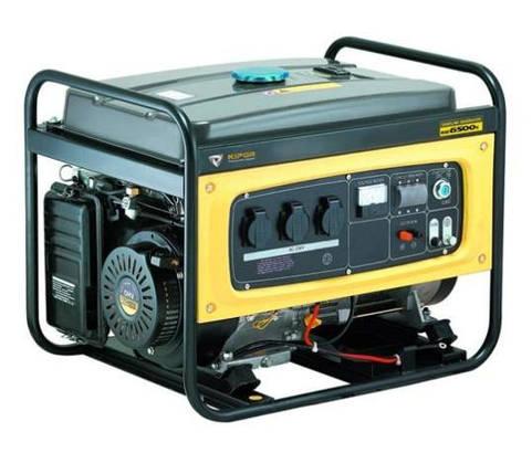 Бензиновый генератор KGE6500Х (Даем скидку 10 процентов), фото 2