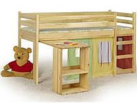 Кровать детская HALMAR EMI сосна