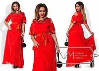 Элегантное женское платье больших размеров к-1515995
