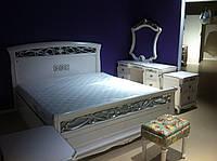 Спальня FL-1605 (1,6 м. с механизмом) белая (раскомплектовуется)