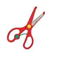 Ножницы детские 135мм, с возвратным механизмом, BABY Line (ZB.5003)