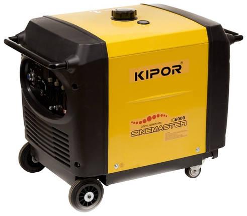 Инверторный генератор Kipor IG6000 (Даем скидку 10 процентов), фото 2