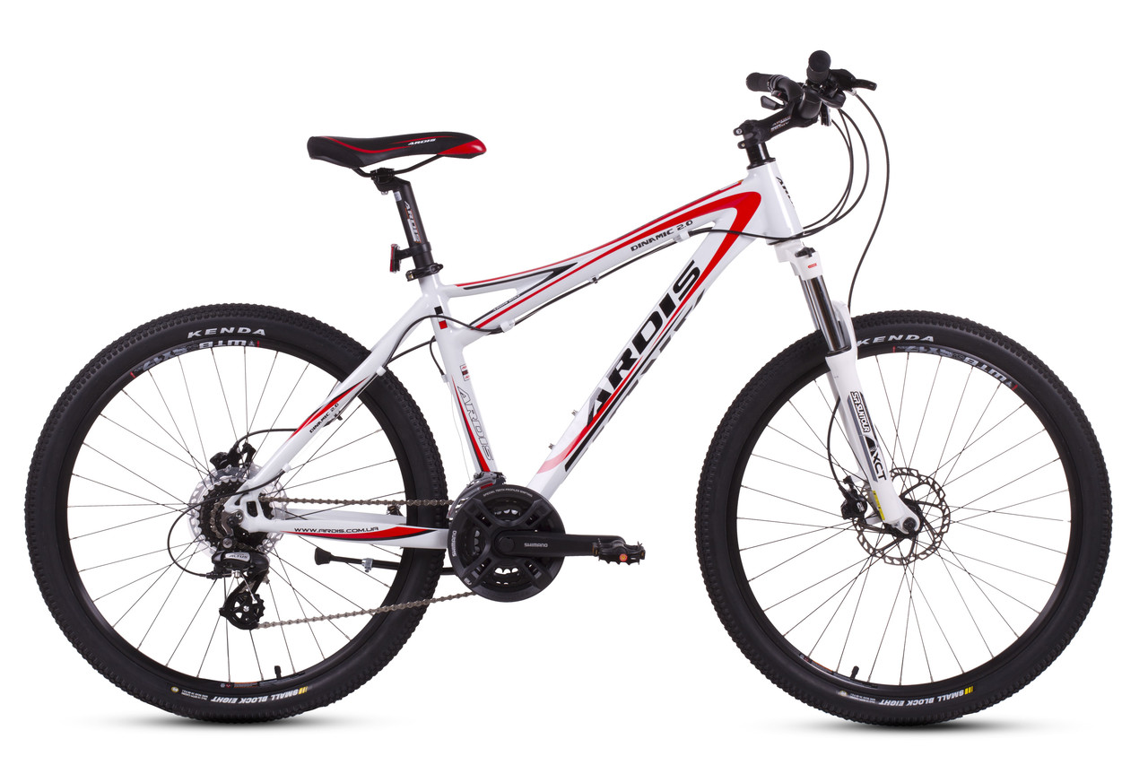 Велосипед Ardis Dinamic 2.0 AL гидравлические тормоза.