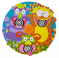 Игрушка для малышей для ванной ALEX Toys Rub a Dub Tub Target Screaming Monsters