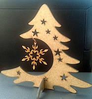 Новогодняя елка из МДФ