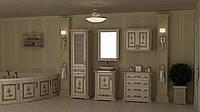 """Тумба и зеркало для ванной 60 """"Троя"""""""